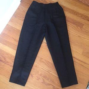 Pants - Black Linen Blend Pants